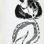 Serie Euskara. 28 dibujos. 1 tinta sobre papel. 29,5 x 21 cm. cada uno (23)