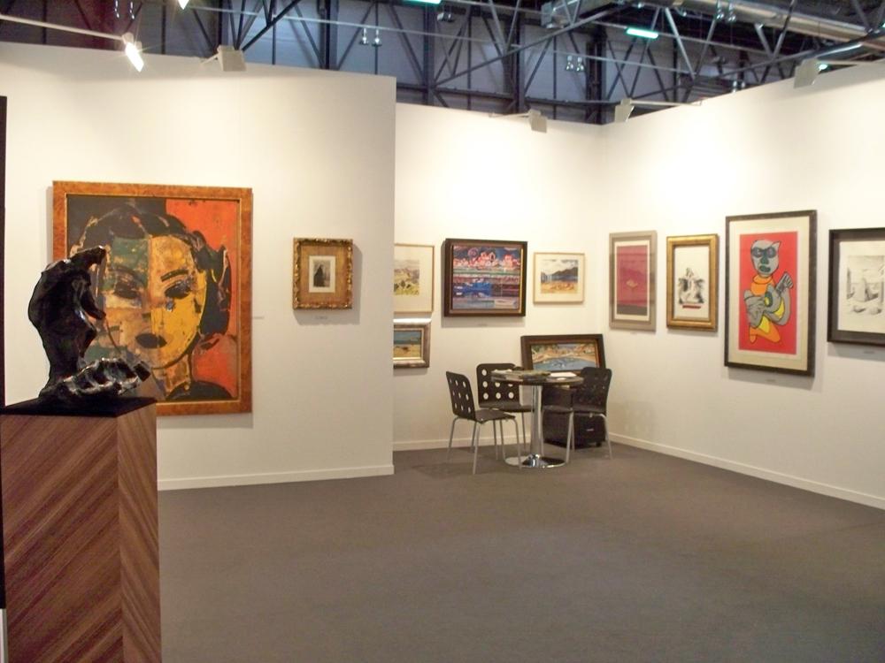 Octubre 2007. Estampa Madrid, Salón Internacional del Grabado y Ediciones de Arte Contemporáneo