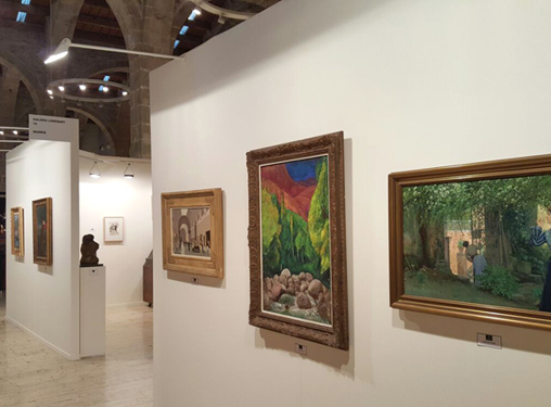 Enero 2016. Galería de Arte Lorenart en Fama Barcelona 2016