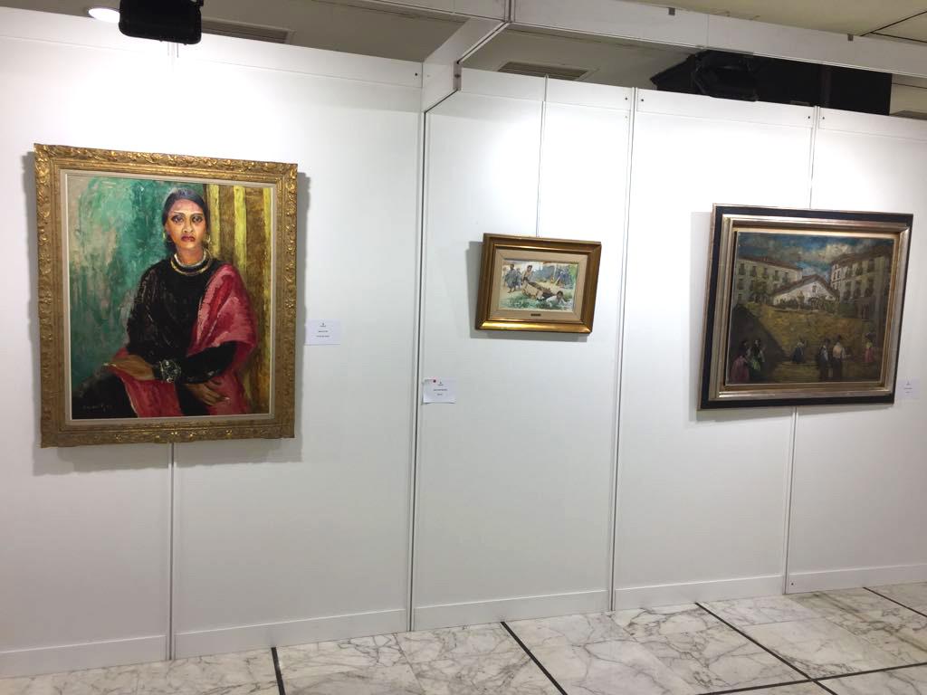 El 2 de febrero inauguramos la exposición de arte contemporaneo de la Galería Lorenart en Hotel Ercilla de Bilbao